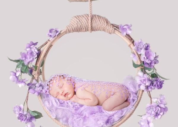 Backdrop Hanging turkiz lila Web