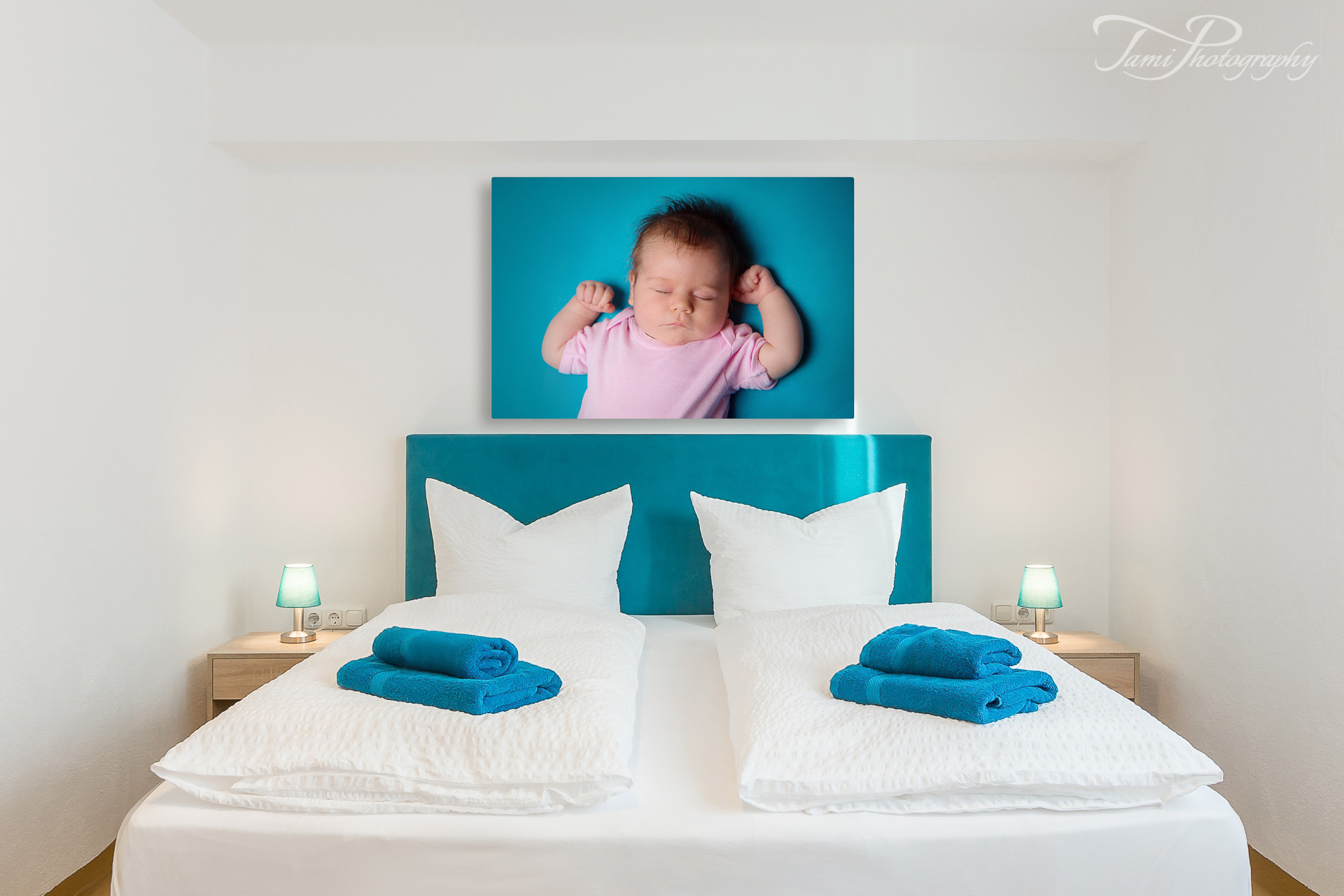 Baby Fotografie, Leinwand